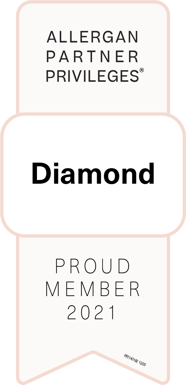 Allergan Diamond 2021 Badge